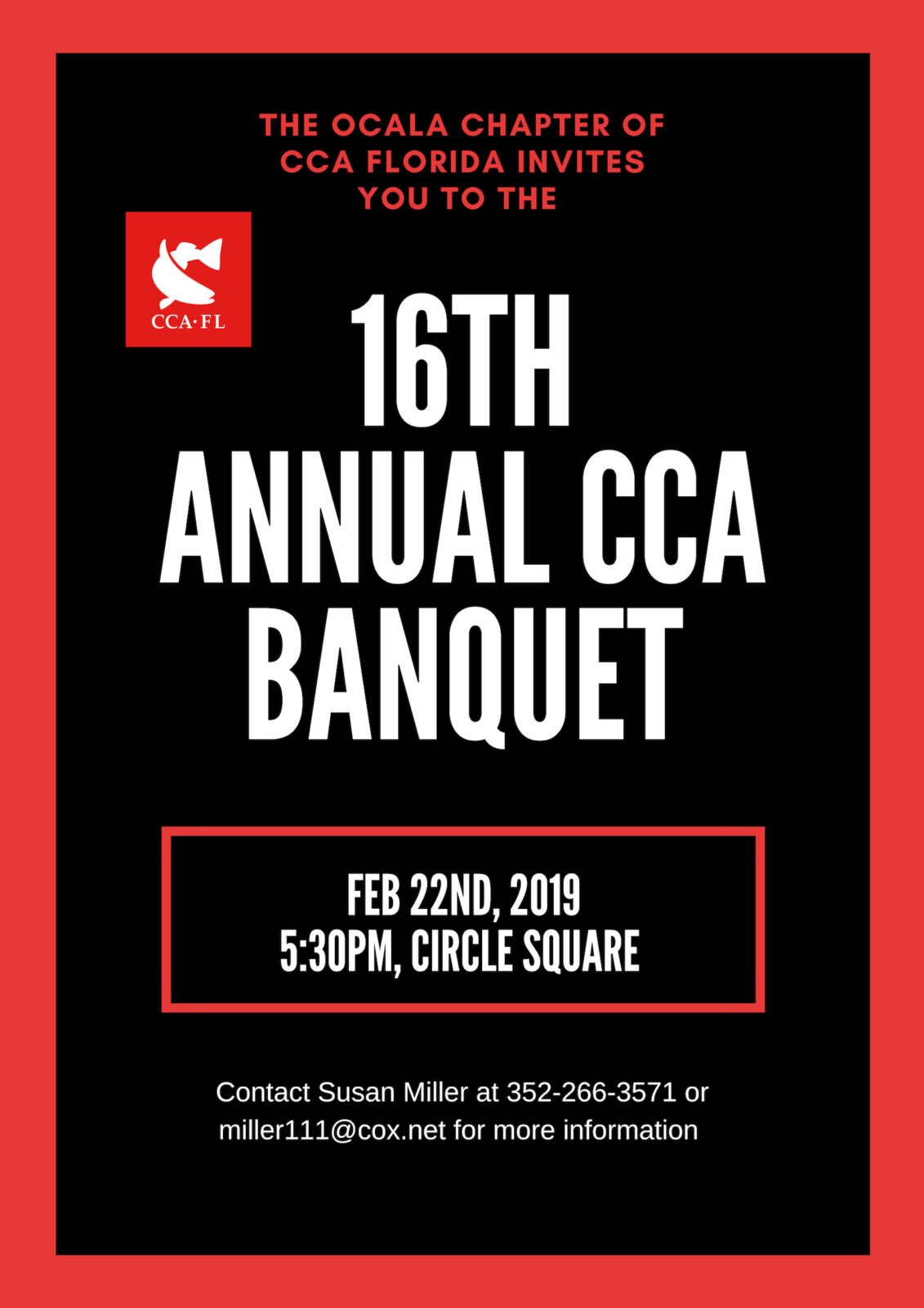 Ocala Chapter Banquet + Auction – CCA