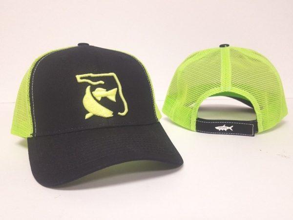 CCA Hat - Green on Black