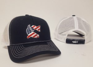 CCA Hat - Red, White & Blue