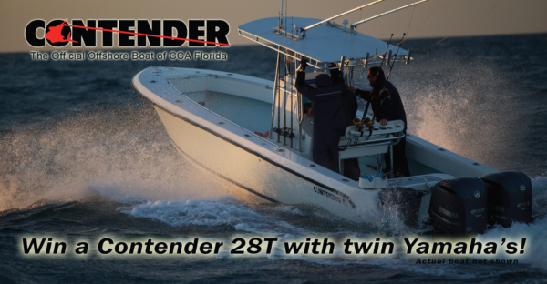 Contender 28T Boat Giveaway (1 ticket)